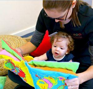 educator communication with child
